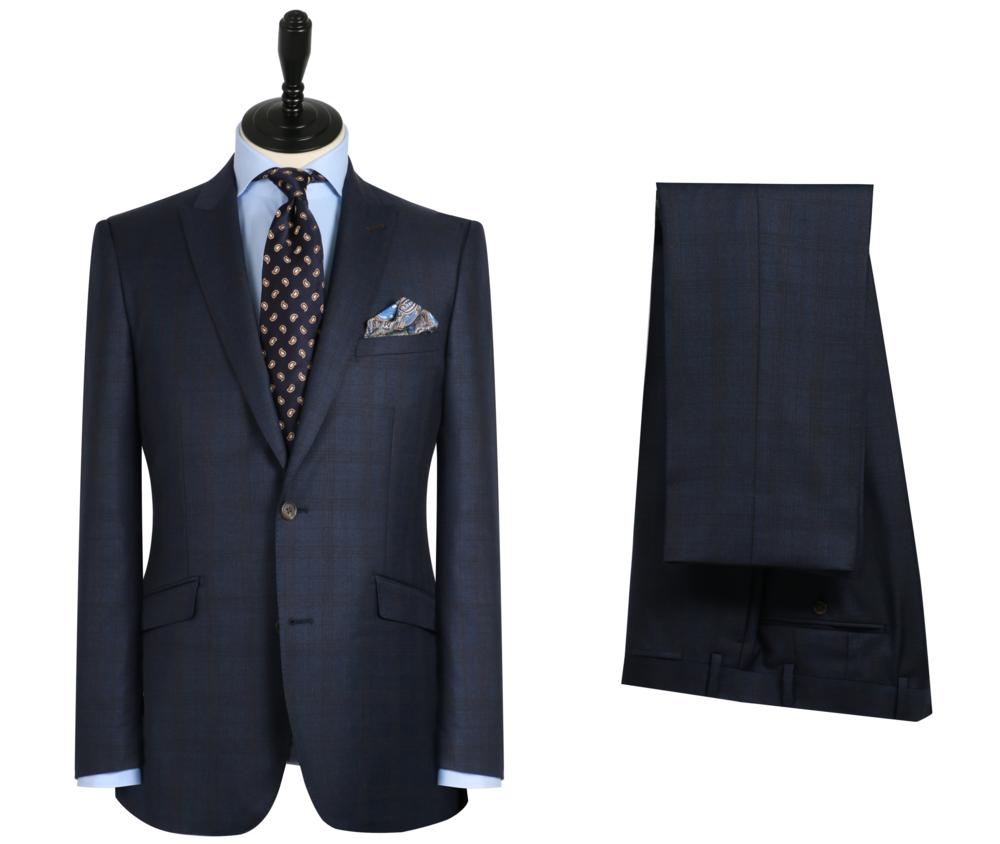 Zegna Electa Cloth - Learn more about this collection by booking a fitting below.