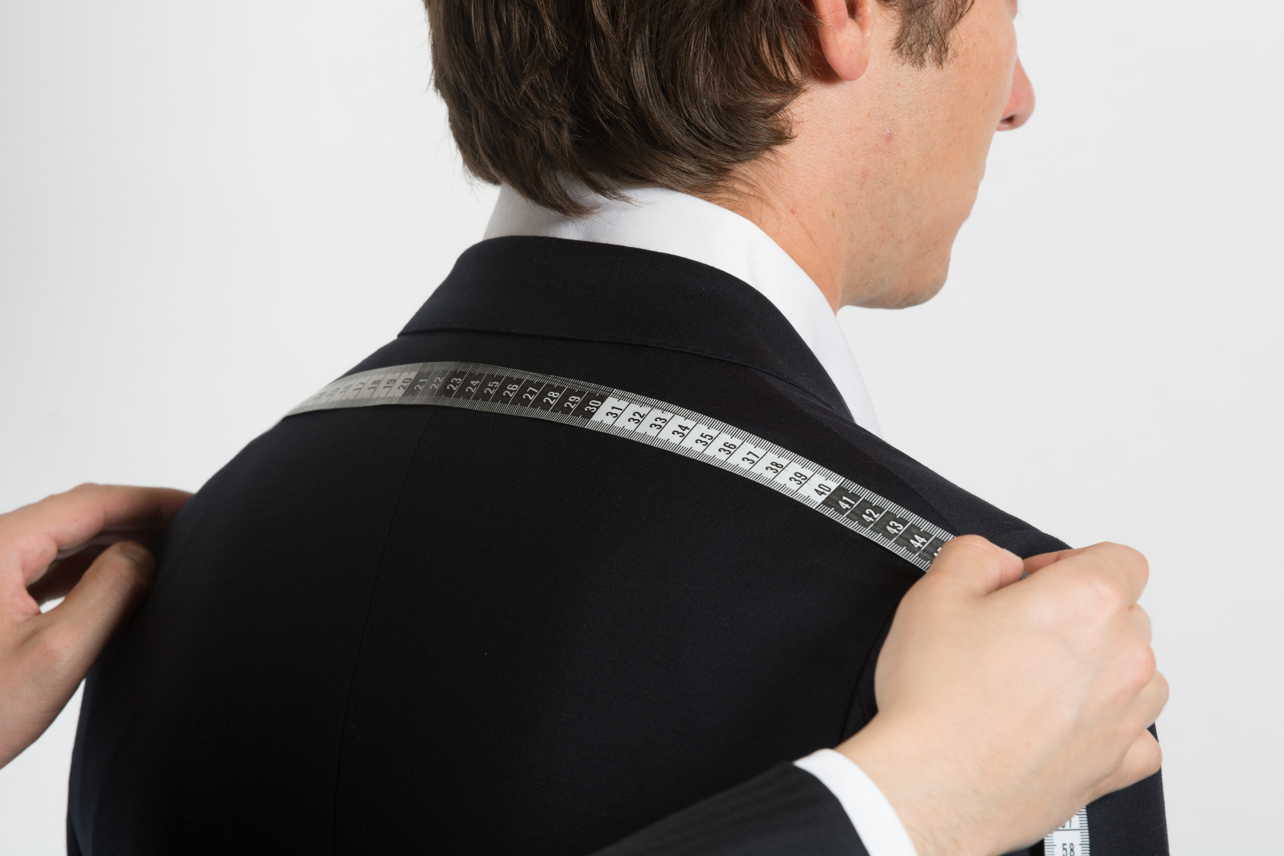 Our team takes detailed measurements of your body and also notes your posture for the best fit.