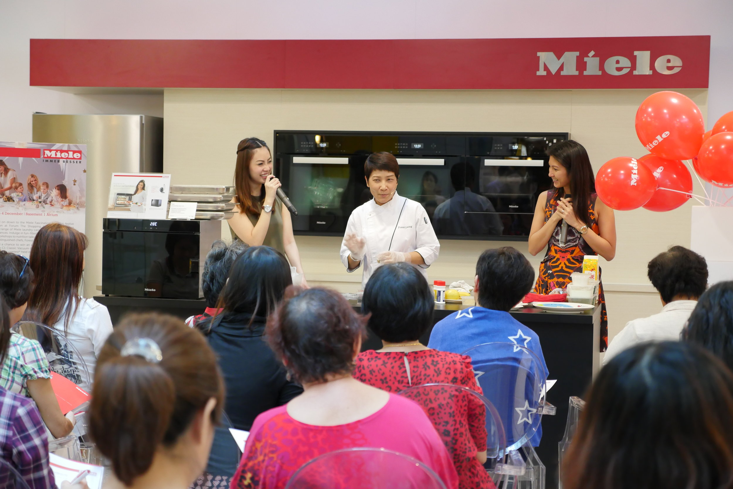 Miele Cooking Demonstration with Chef Forest Leong