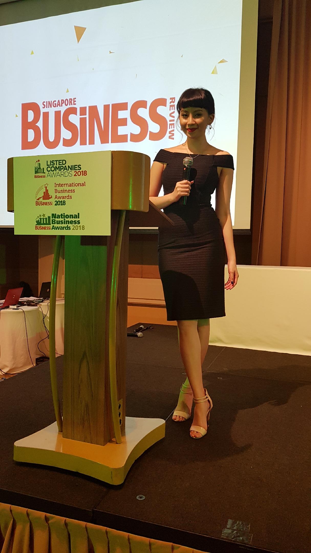 Singapore Business Review Awards 2018
