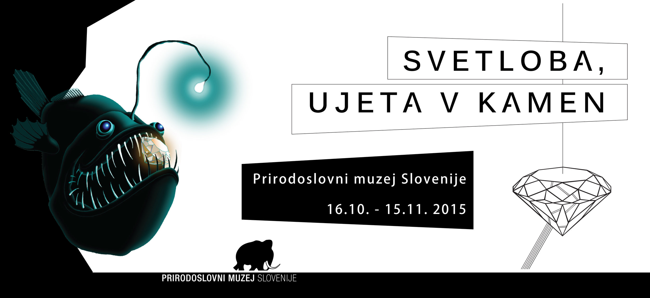 Light, caught in stone - Group exhibition show / Slovenian Museum of National History16. October - 15. November 2015 / Ljubljana / Slovenia