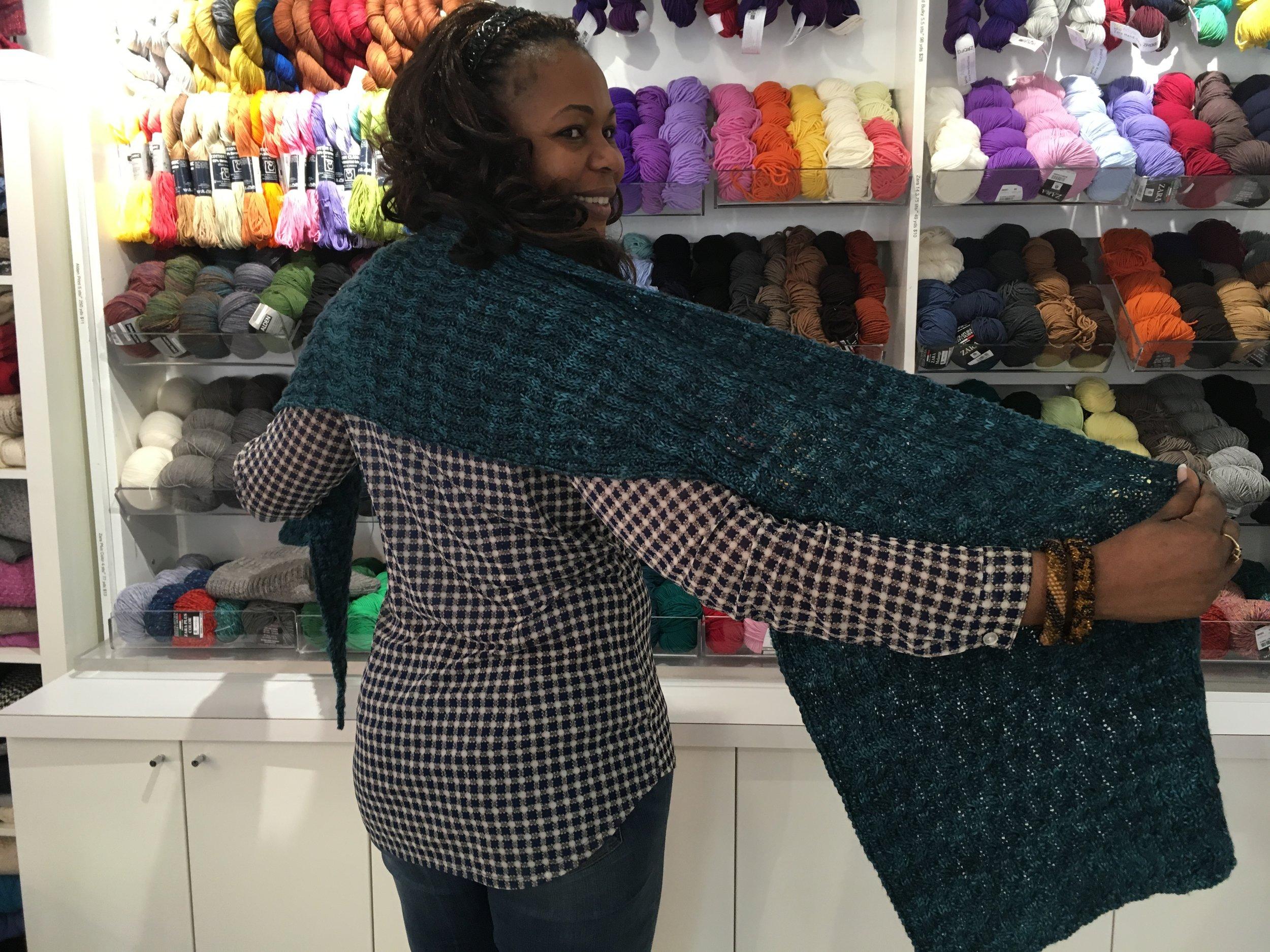 seafarer shawl