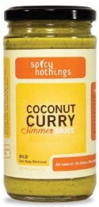 spicy nothings curry sauce