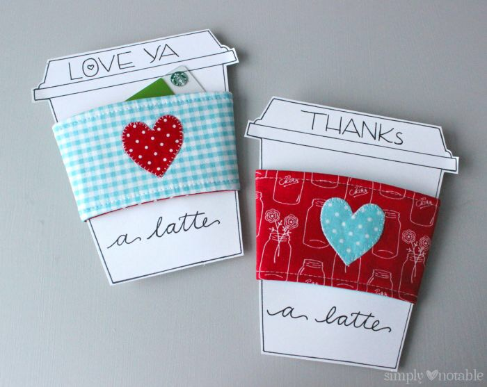 Love you a latte Valentines Card