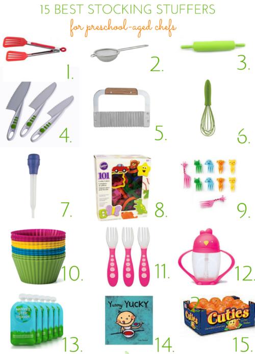best stocking stuffers for preschool-aged chefs