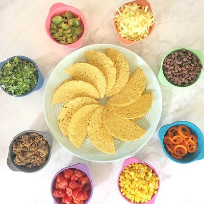 Build Your Own Taco Bar for Kids