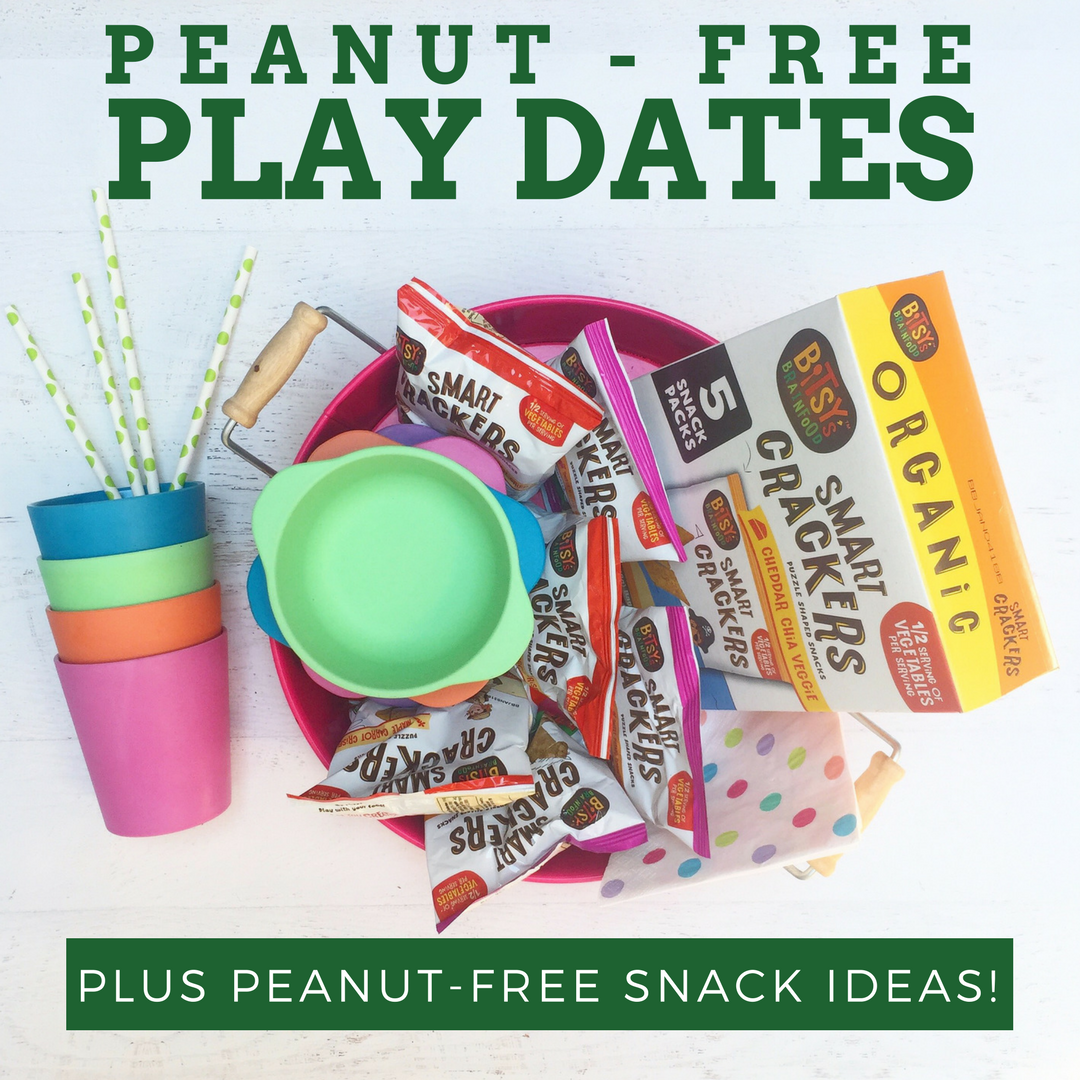 Peanut-Free Snack Ideas for Play Dates