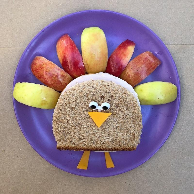 Turkey Sandwiches for Friendsgiving or a fun Thanksgiving lunch