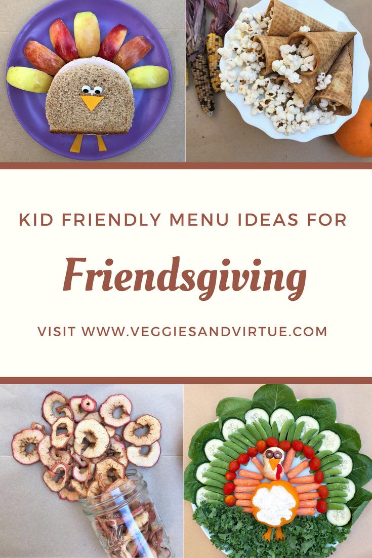 Kid Friendly Menu Ideas for Friendsgiving