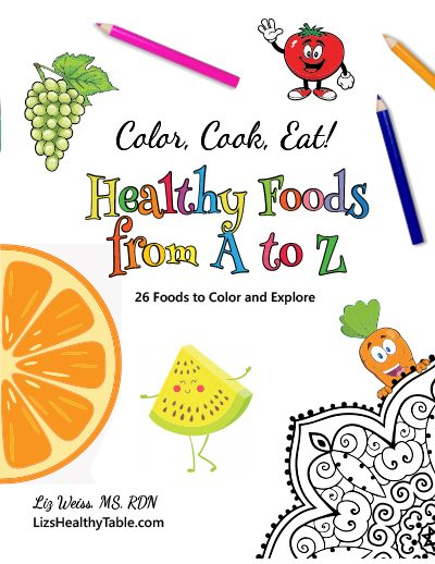 Color, Cook, Eat! Coloring Books