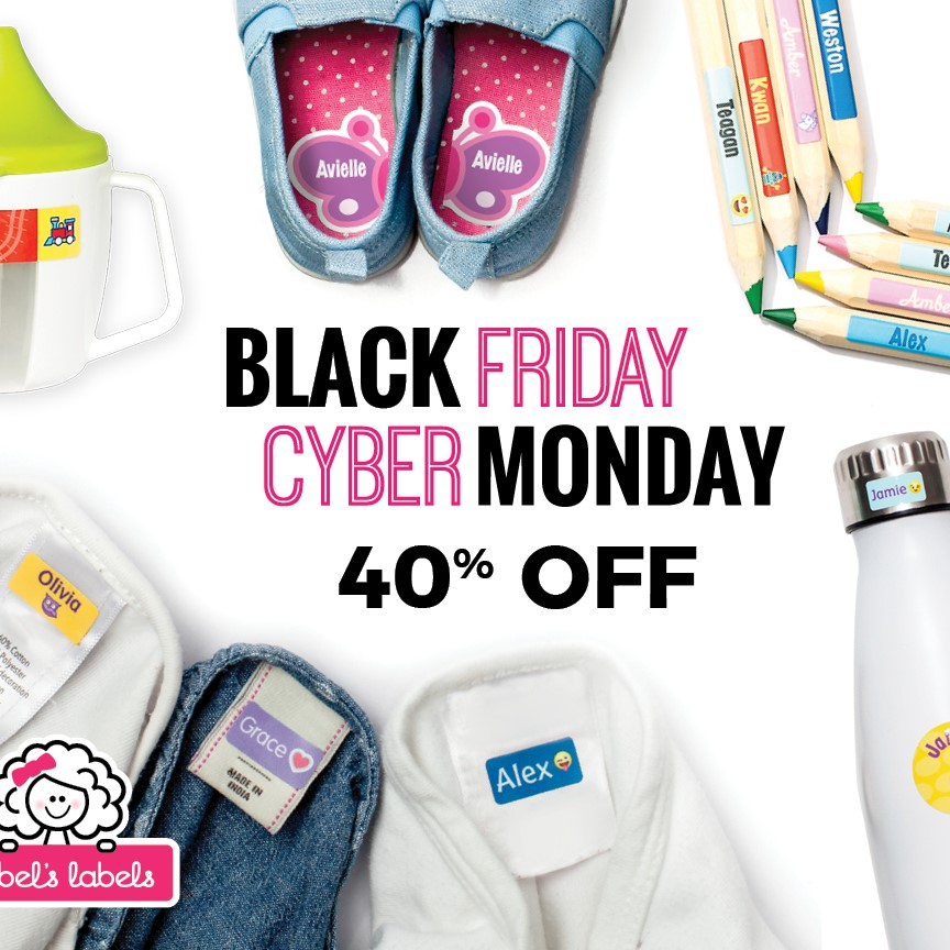 Mabel's Labels  : 40% OFF the most popular labels. No code needed. Ends 11/27.