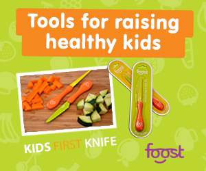 Foost Kid-Safe Knives  : Use code veggiesandvirtue for 10% off