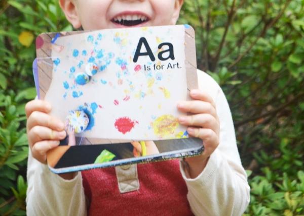 Days with Grey Alphabet Activity Cards