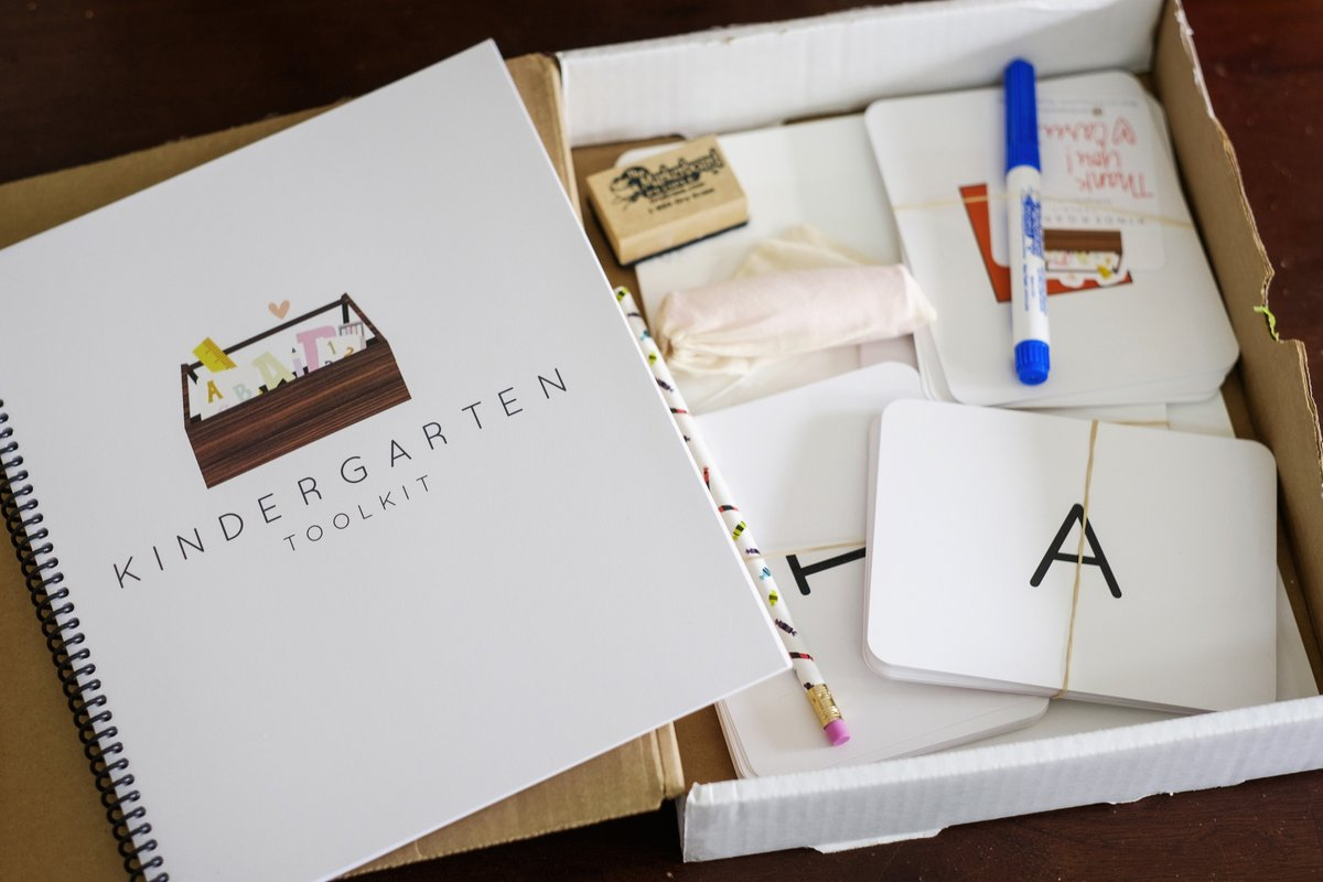 Kindergarten Toolkit  : Use code HOLIDAYFUN for 20% off. Ends 11/27.
