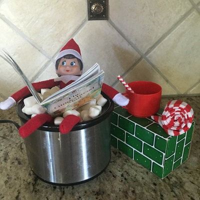 elf on the shelf crockpot hot tub.jpg