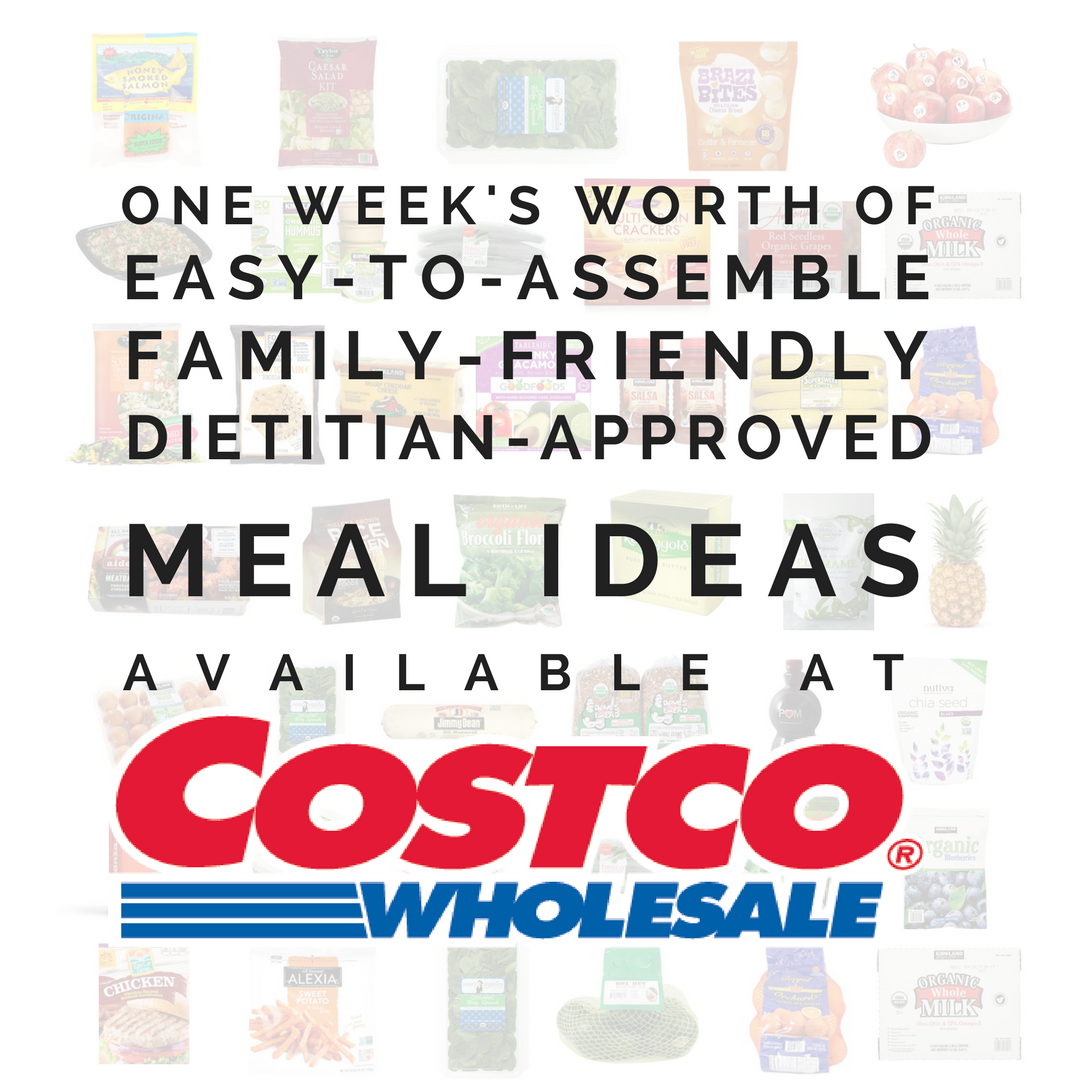 EASY MEAL IDEAS FROM COSTCO