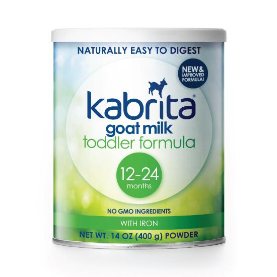 Get a free trial of the toddler formula at kabritausa.com