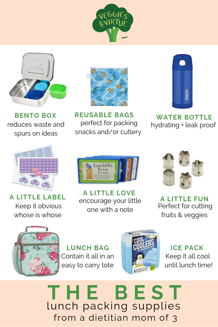 The Best Back to School Lunch Packing Supplies