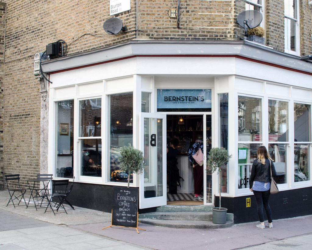 Head to Bernstein's for a spot of brunch - the perfect accompaniment to your coffee I Photo by Sharking for Chips and Drinks