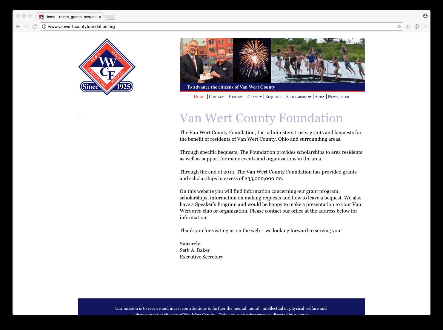 vanwertcountyfoundation.org