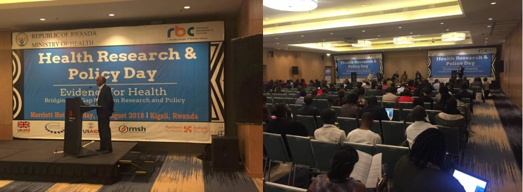 Delegates at the health research and policy day conference held at Marriott Hotel on 08/24/2018)