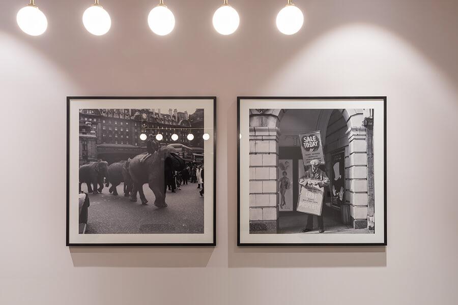 Vintage photographs of Victoria Station