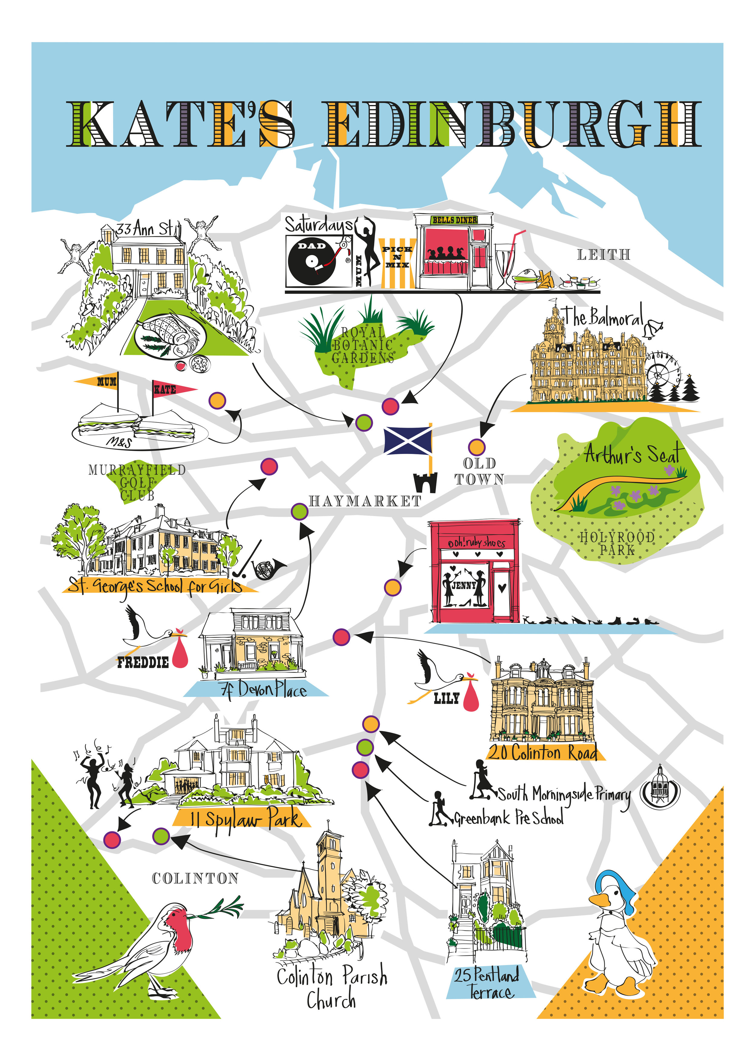 Bespoke Maps x 8