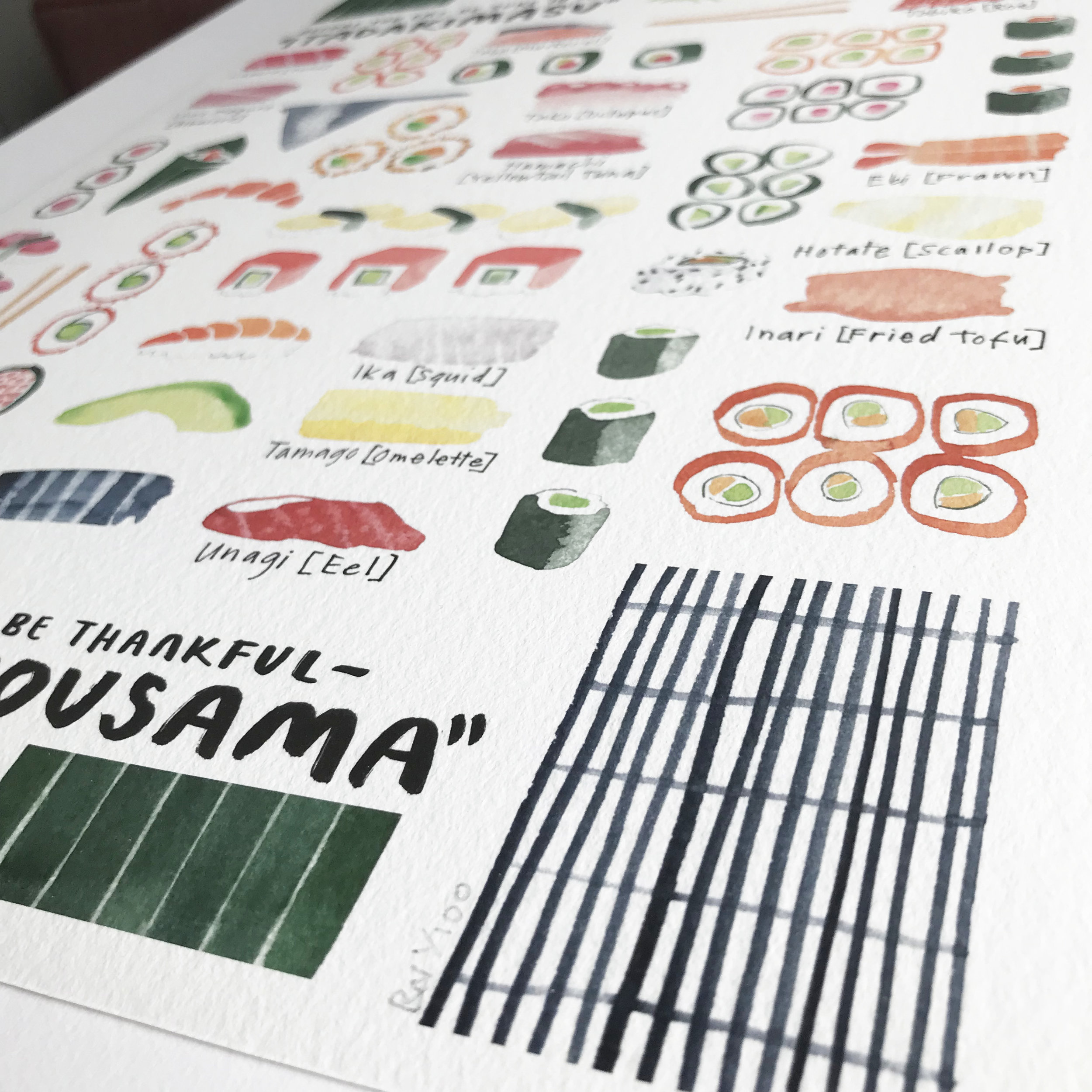 rebsville-watercolour-painting-giclee-print-a3-sushi-cooking-japan-4.jpg