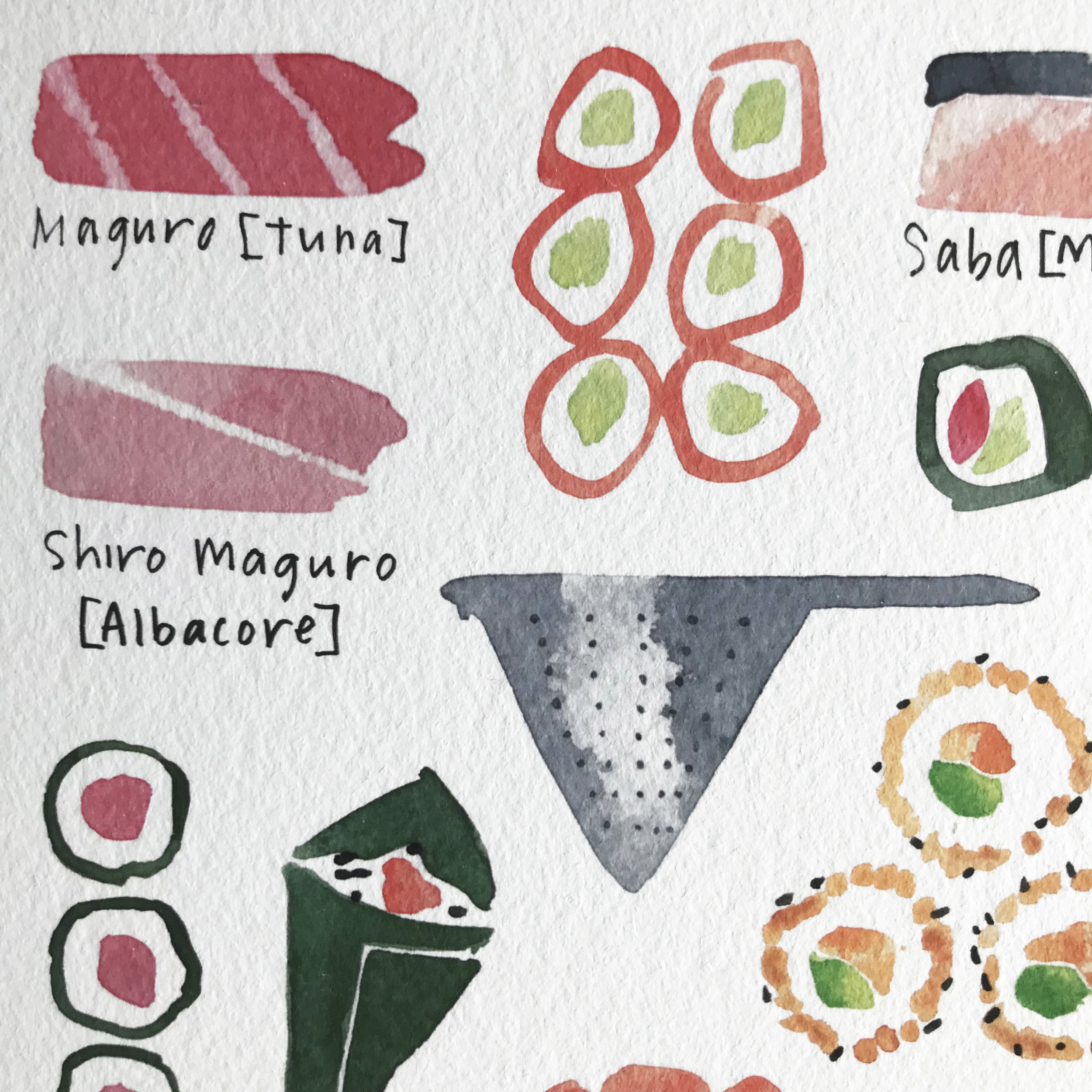 rebsville-watercolour-painting-giclee-print-a3-sushi-cooking-japan-6.jpg