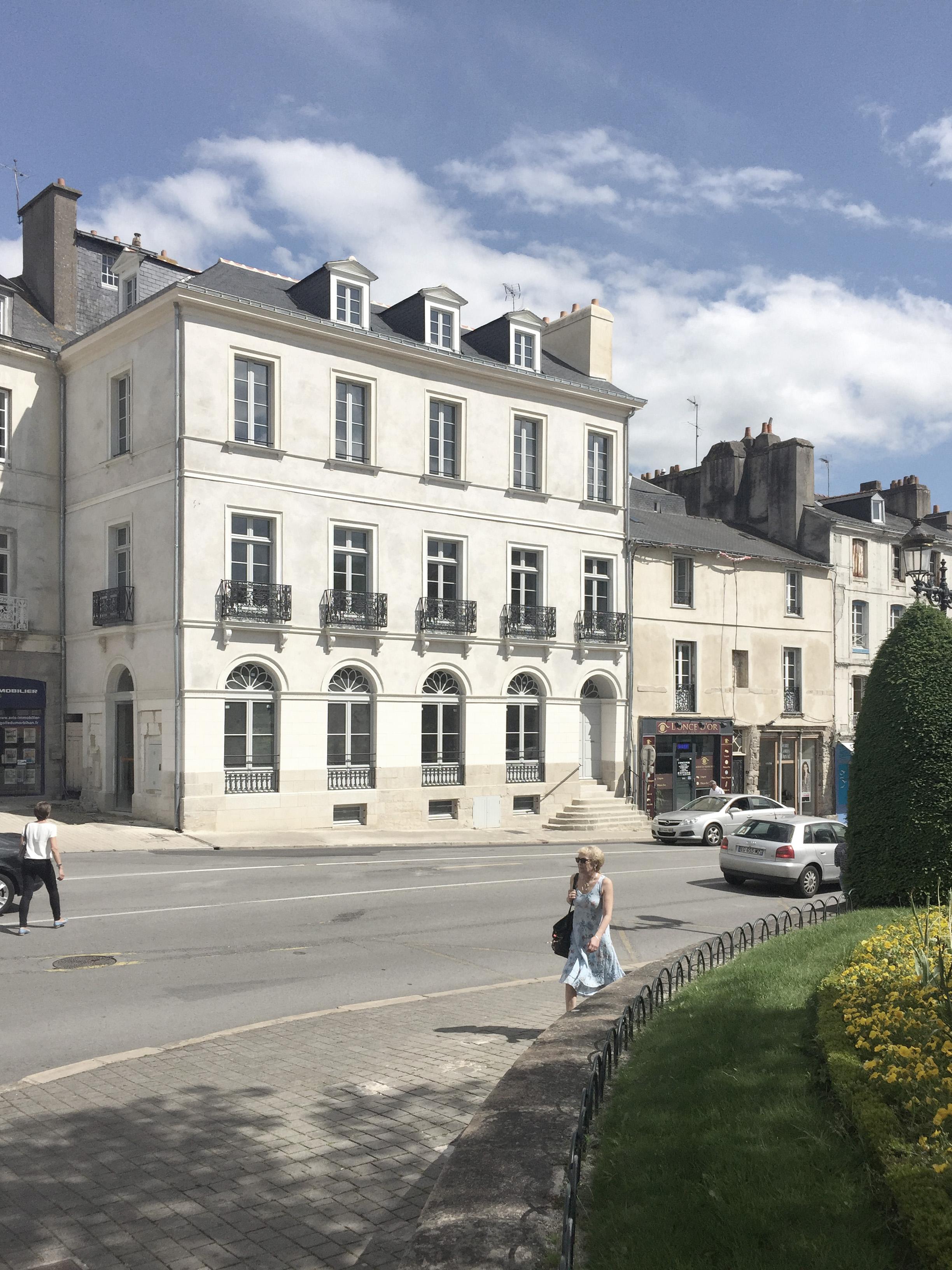 """Restauration d'un immeuble de 6 logements à Vannes - Trophée des Hermines 2018 dans la catégorie """"restaurations patrimoniales"""""""