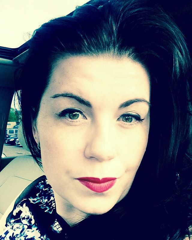 It's one of those red lipstick days! #RedLipstickMafia #pictoftheday #selfie #redlips #red #thatsdarling #mac #maccosmetics #girly #girlygirl #greeneyes #irish #igers #actress #actor #vintage #vintagestyle #pretty #steampunk #FaceChanging #DietSuccess #WatchOutWorld #BecomingWonderWoman #WonderWoman