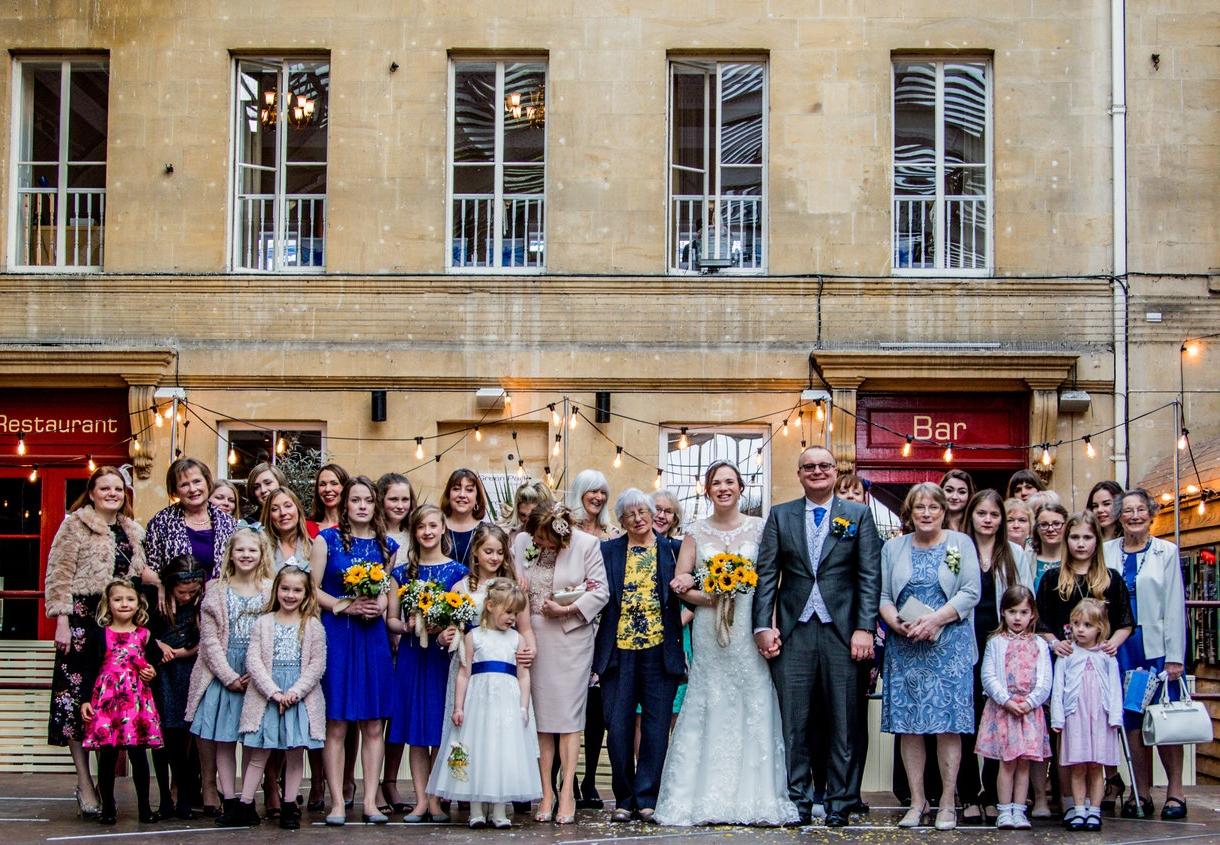 Bath Function Rooms | Central Wedding Venue in Bath