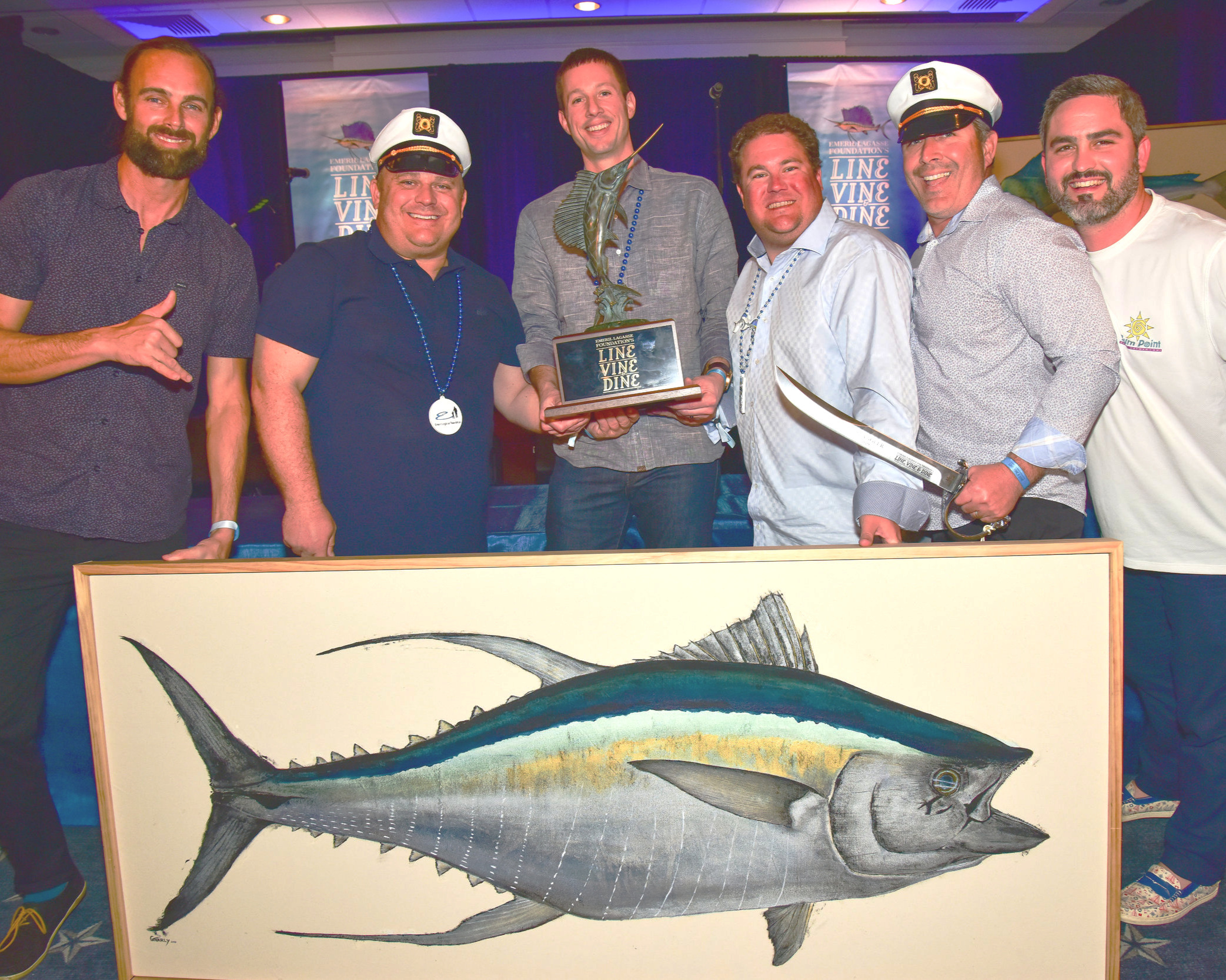 saturday, february 8 - Charity Fishing Tournament Day 28:00PM- 4:00PM Pier Sixty-Six Marina-Vine & Dine Seafood Cook-Off5:00PM- 10:00PM Conrad Fort Laurderdale