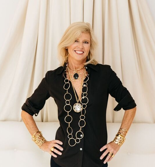 Designer Janet Porcher Gregg in Charleston, SC.