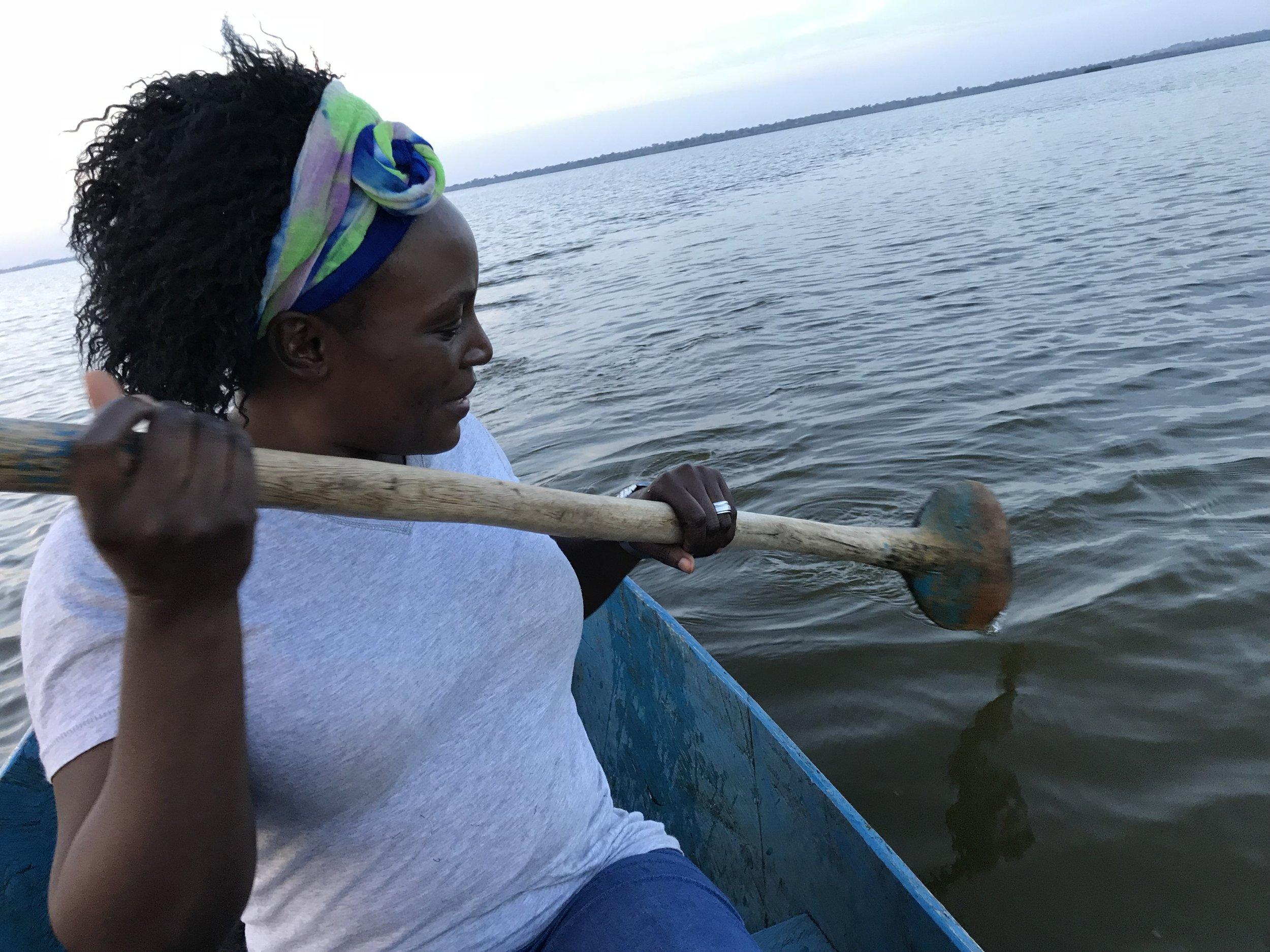 Day 12 Phoebe in boat.jpg