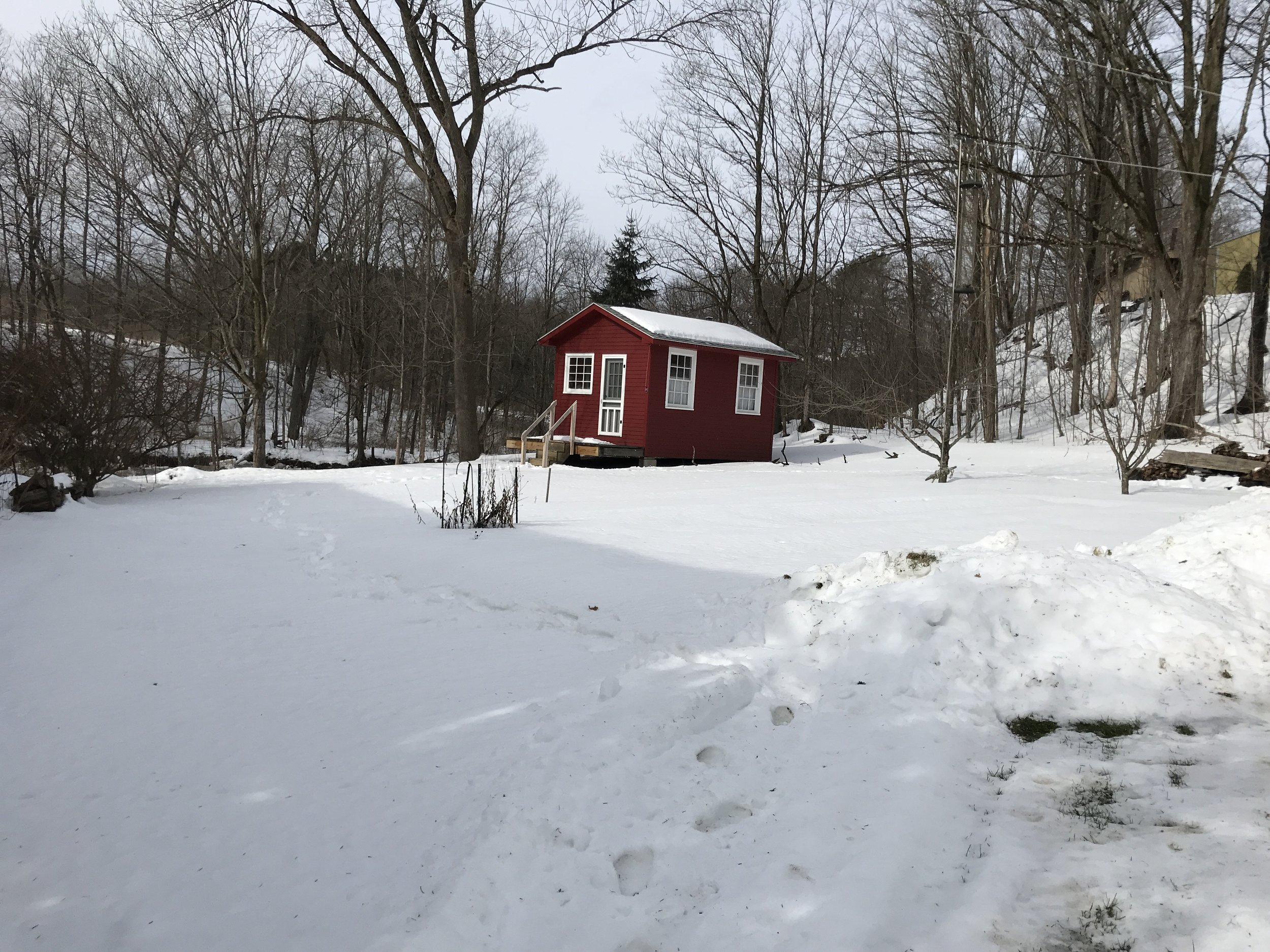 My little cabin in Newville.