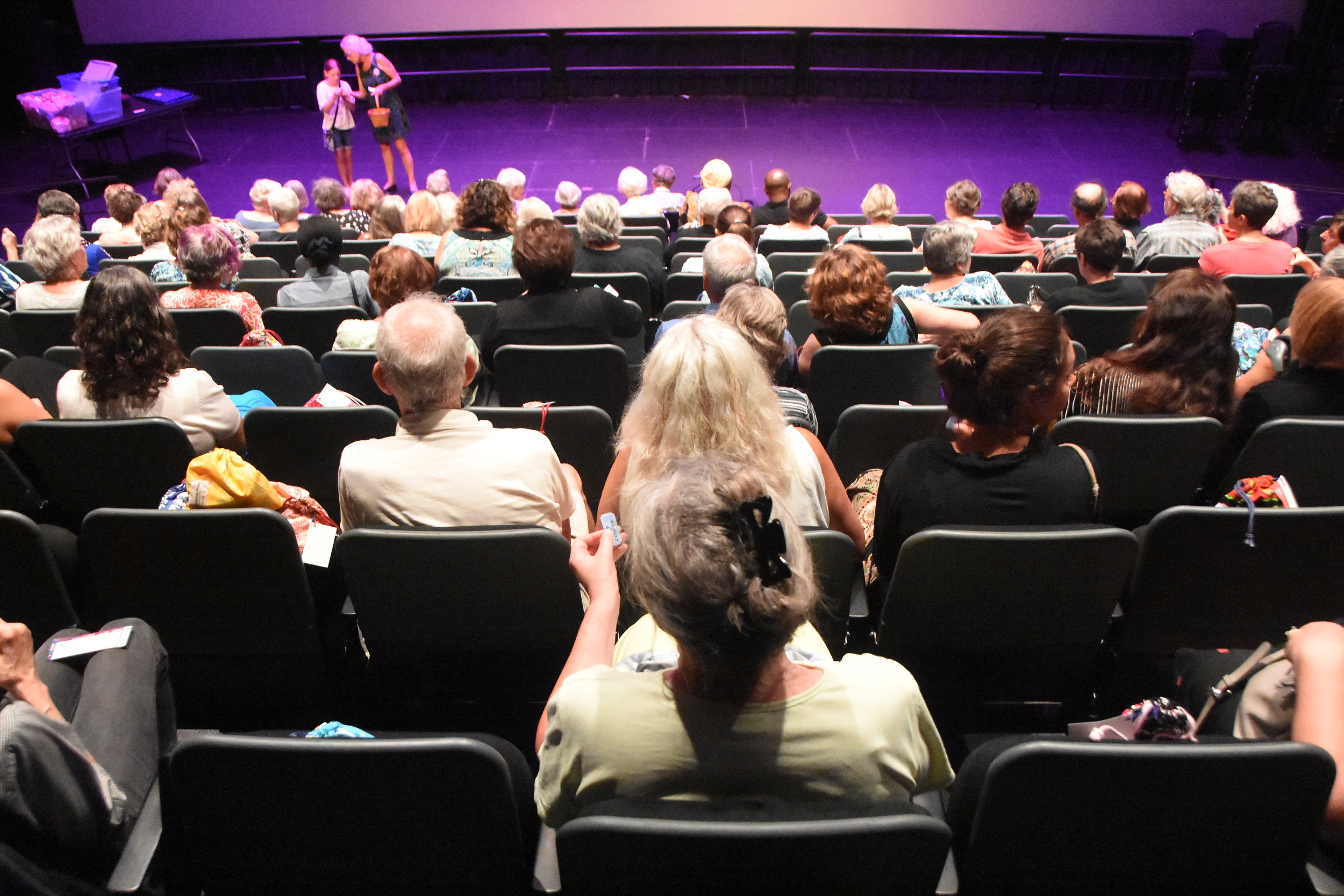 "Over 100 local supporters attended ""Moon-vie Night"" at Proctor's GE Theater on August 7."