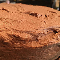 Gluten, Dairy, Soy and EGG free Chocolate cake... vegan