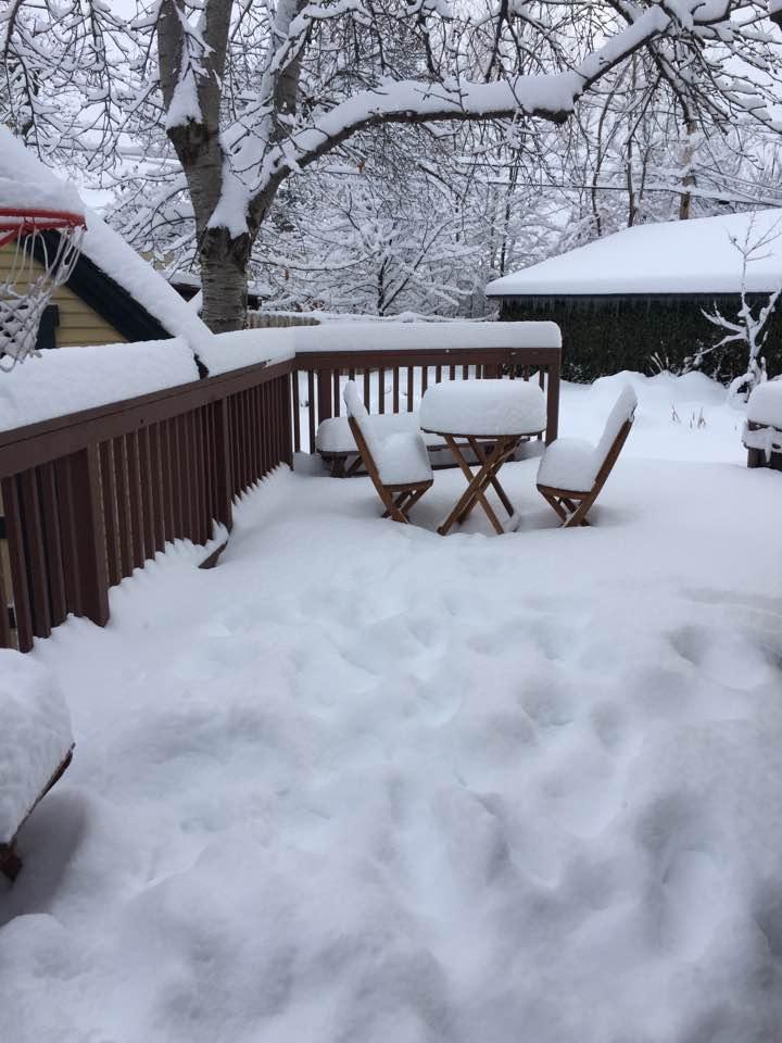 Full-on winter