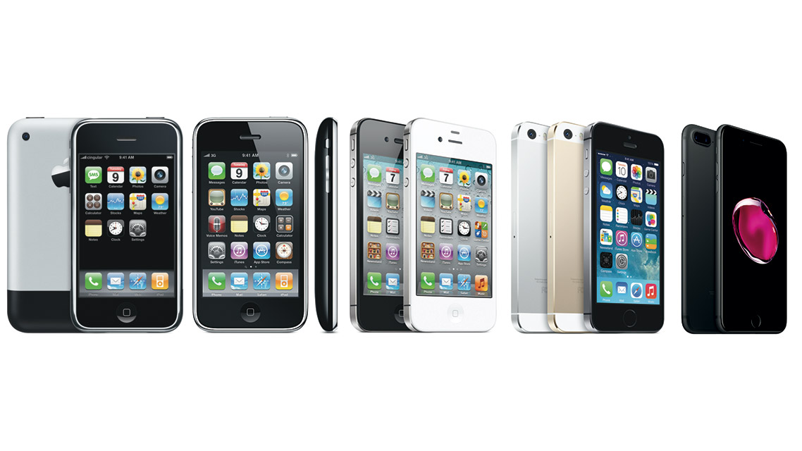 A timeline of the evolving iPhone...