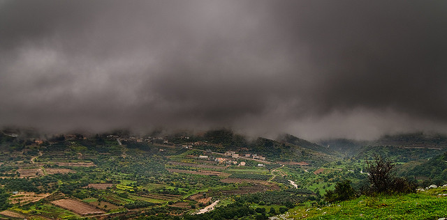 Rain Showers in the Golan - Courtesy of Vad Levin