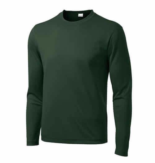 Long Sleeve Custom Athletic Shirt