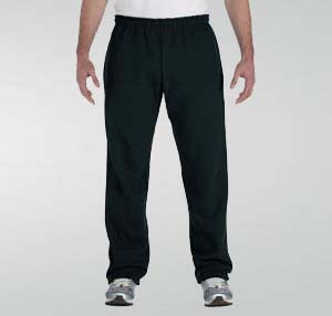 Open-bottom custom sweatpants with pockets