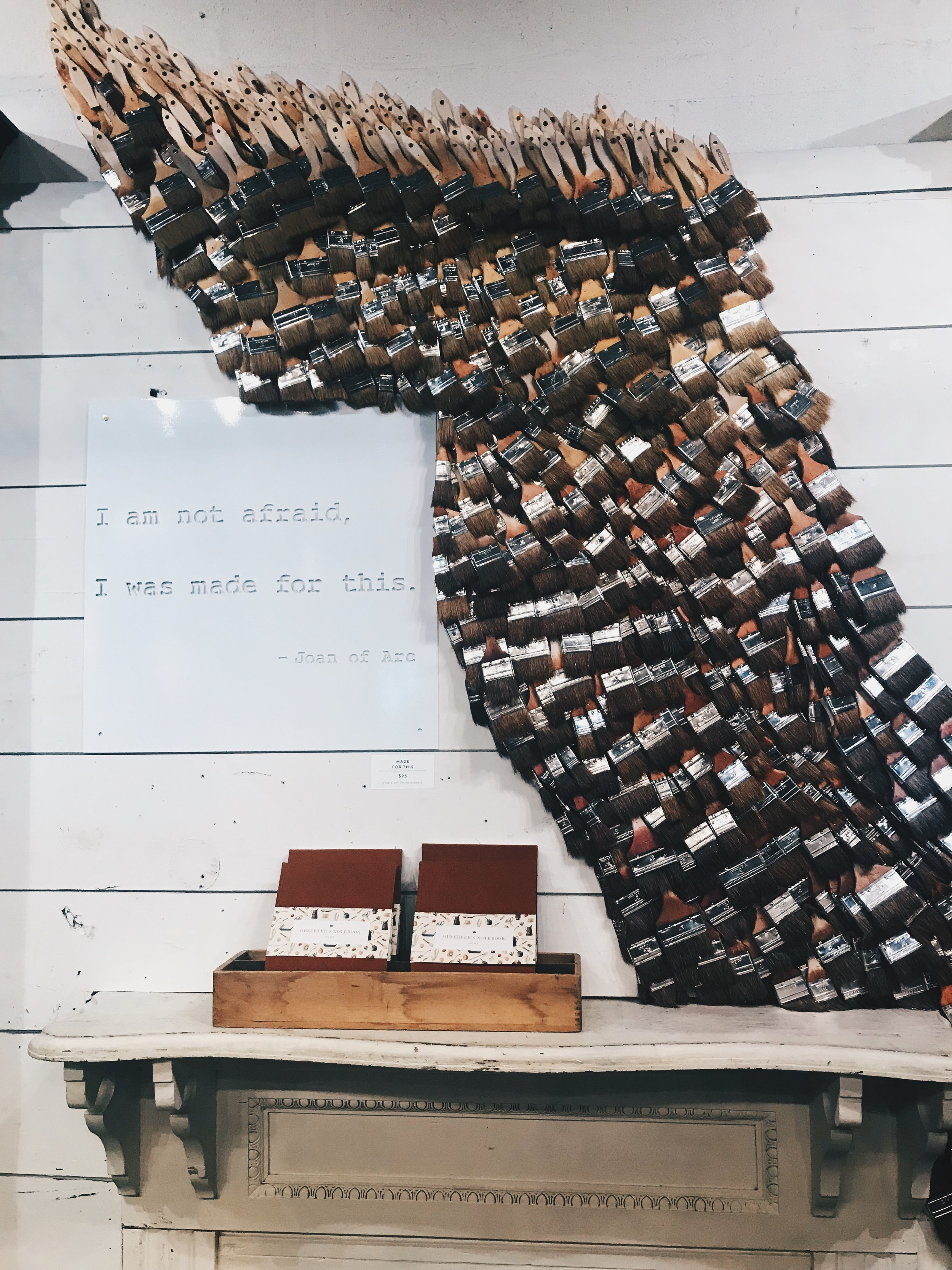 I am not afraid, I was made for this. - Joan of Arc // Magnolia Market