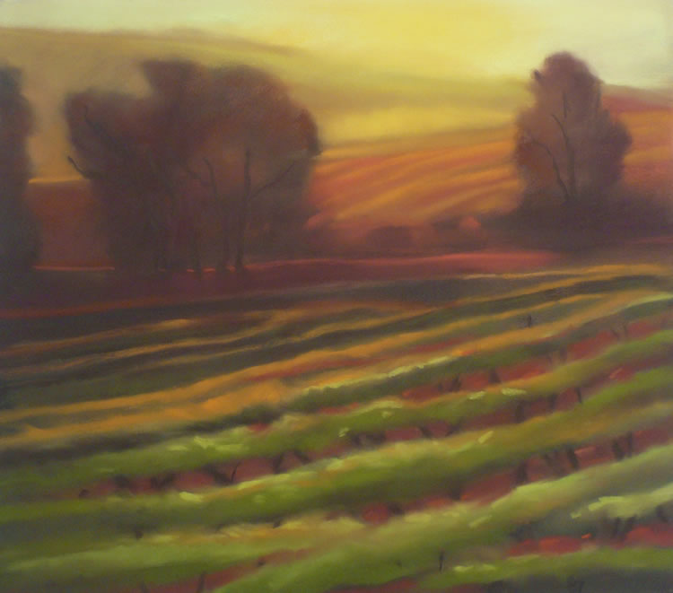 Vintage Moment   Pastel on Copper, 25 x 22 in   33.25 x 36 in framed   $3,500