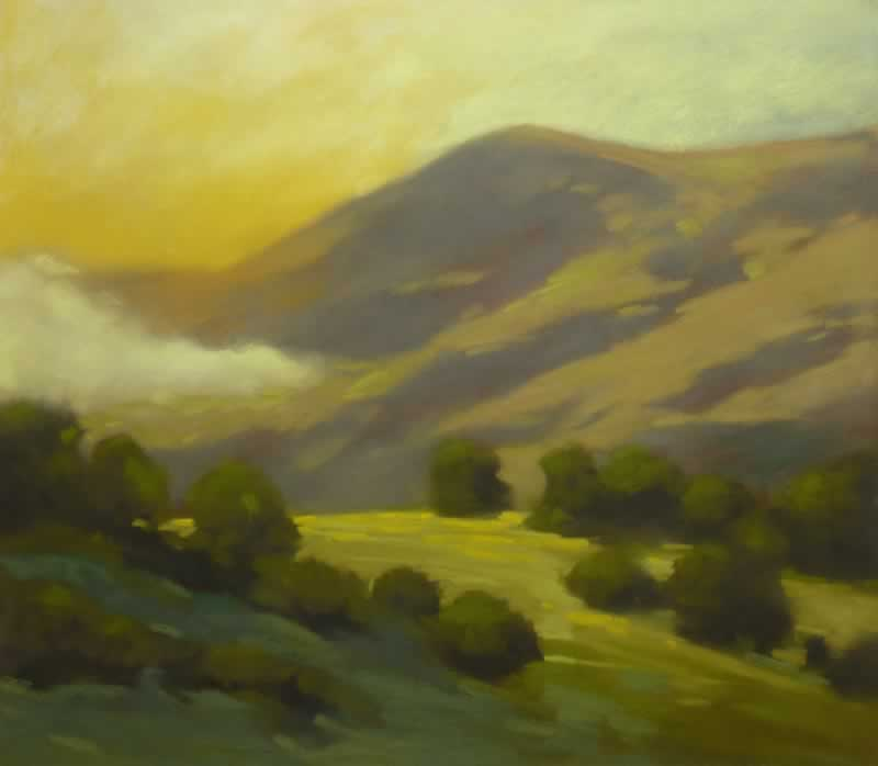 Uplifting   Pastel on Copper, 22 x 25 in   33.25 x 36 inches framed   $3,500