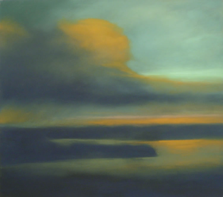 Mysterious Bay   Pastel on Copper   22 x 25 in