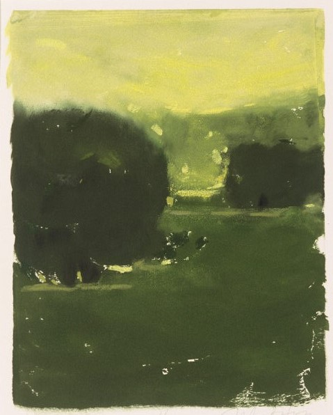 Yellow Light | Monotype, 8 x 10 | $700 in