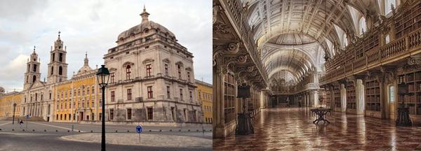 The Rococo Library, Palacio Mafra, Portugal.jpg