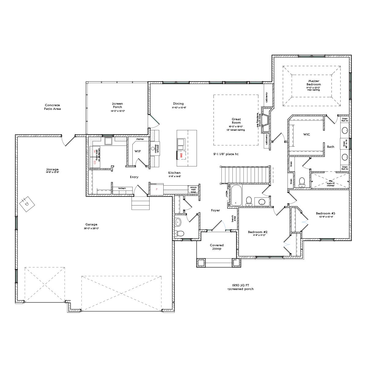 Floor Plans — Berscheid Builders on 3 bedroom house designs, 3 bedroom split level, 3 bedroom ranch, 3 bedroom contemporary, 3 bedroom cape cod, 3 bedroom colonial,